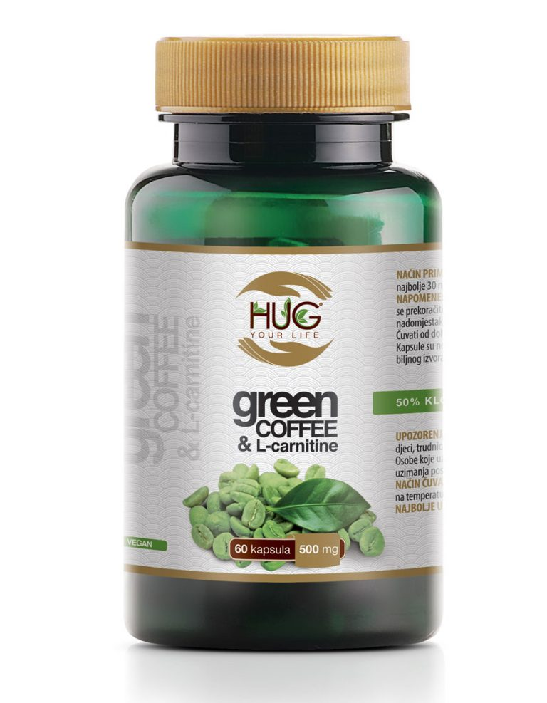 Hug Your Life Green Coffee & L-Carnitine