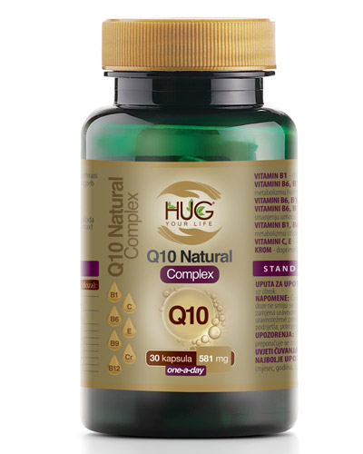Hug Your Life Q10 Natural Complex